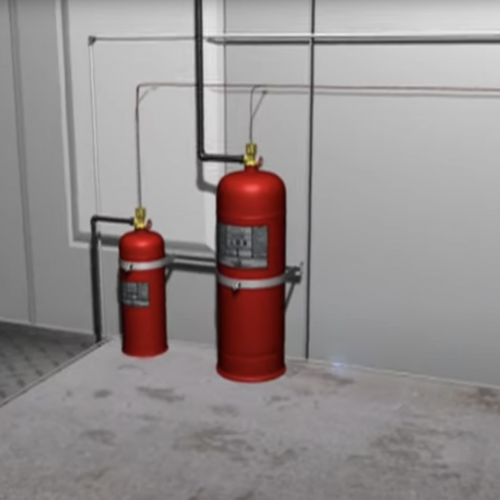 Monarch Industrial Fire Suppression System from Pyro Chem Image