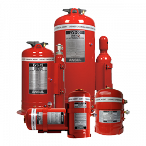 LVS Liquid Agent Vehicle Fire Suppression Systems Image