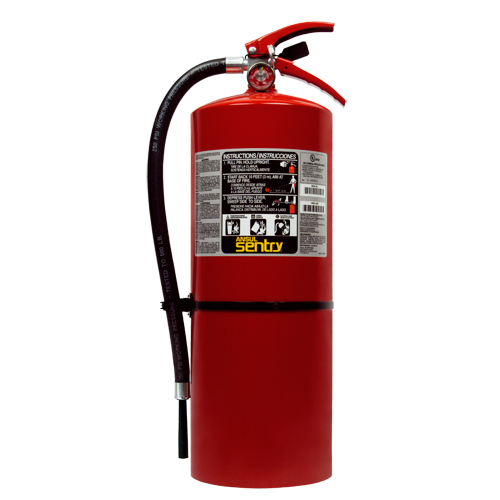 SENTRY Stored Pressure Dry Chemical Extinguisher Image