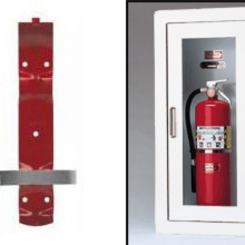 Fire Extinguisher Cabinets & Brackets Image